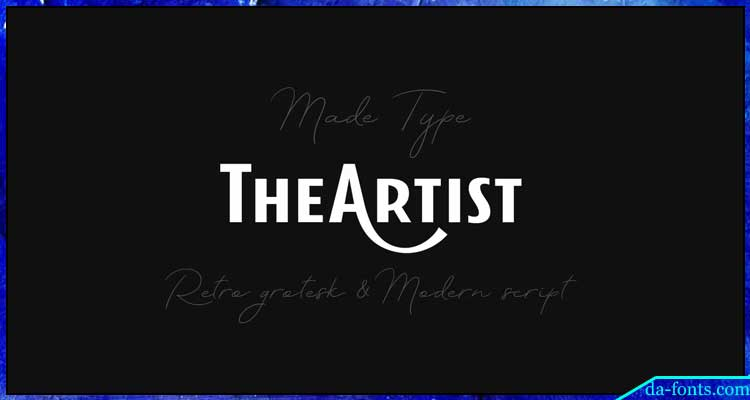 Theartist Duo Font Free Download