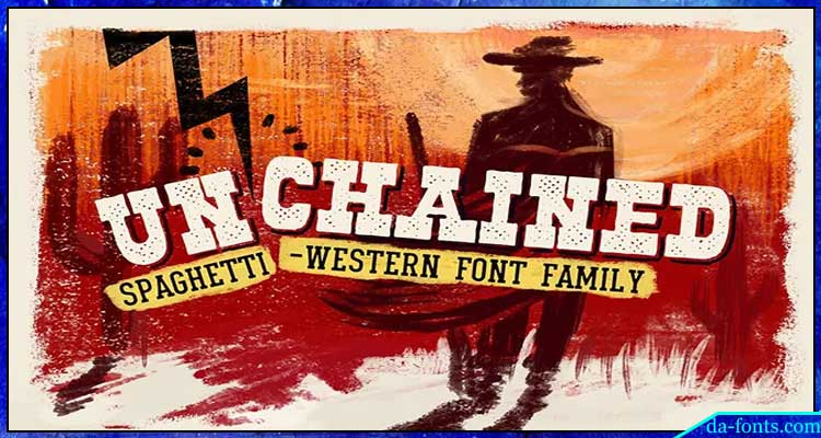 Unchained Font Family Free Download