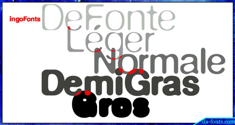 Defonte Font Family Free Download