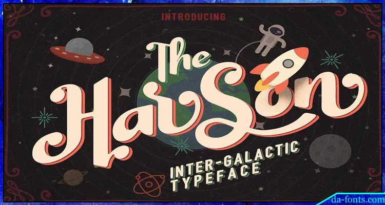 Harson Typeface Free Download
