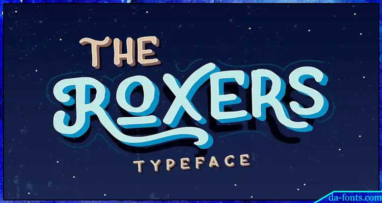 The Roxers Typeface Free Download