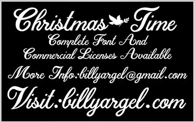 Christmas Time Font Free Download