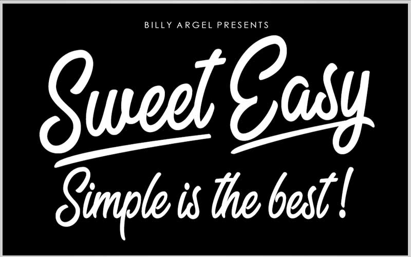 Sweet Easy Font Free Download