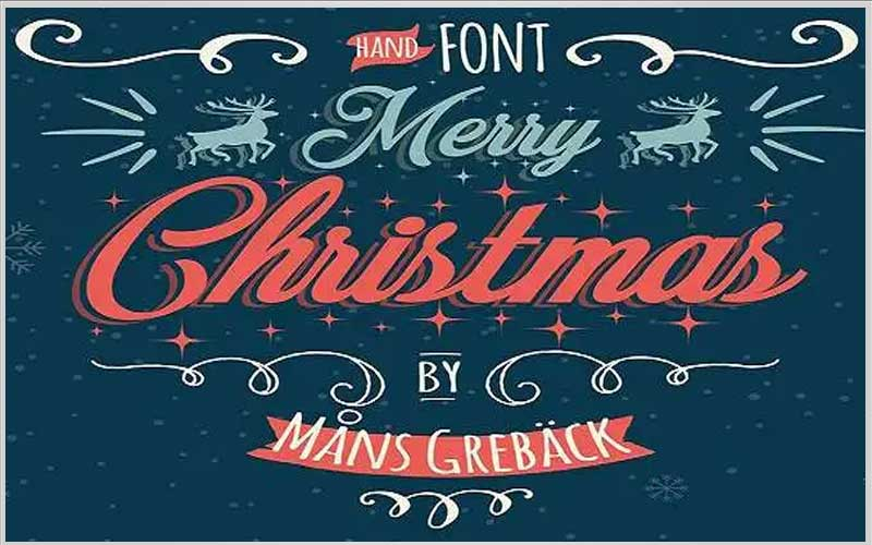 Merry Christmas Font Family Free Download